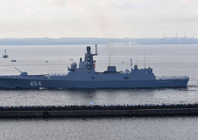 SSCB Donanması Amiral Gorşkov savaş gemisi