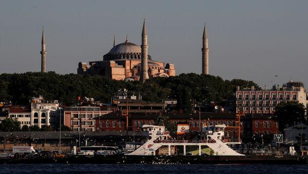 Türkiye - İstanbul - Vapur - Ayasofya - Sputnik Türkiye