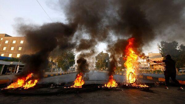 Irak, protesto - Sputnik Türkiye