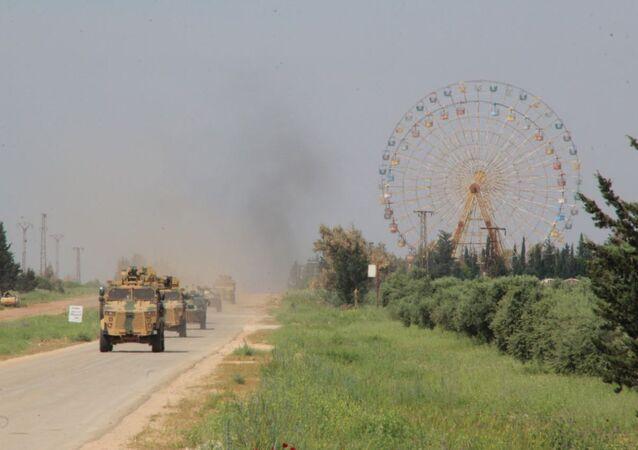 Rusya-Türkiye ortak devriye, M4 Karayolu, Suriye