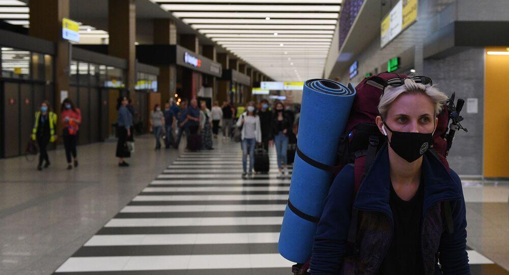 Şeremetyevo Uluslararası Havalimanı, koronavirüs, Moskova, Rusya