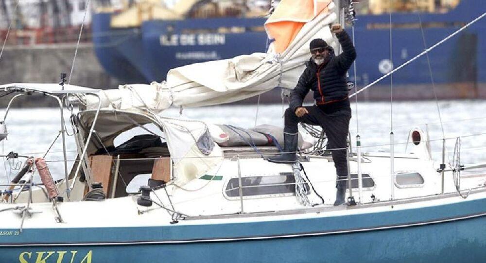 Sınır kapanınca 82 günde tekneyle Atlas Okyanusu'nu aşıp evine ulaştı