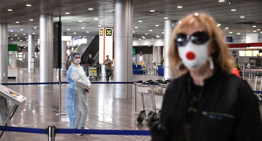 Rus turist, koronavirüs, Şeremetyevo Uluslararası Havalimanı