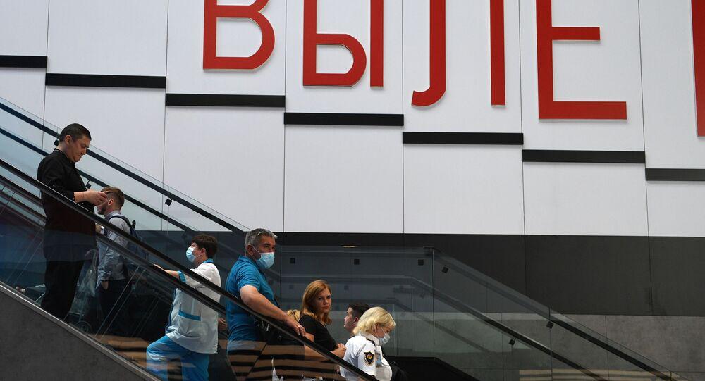 koronavirüs, Rusya, Şeremetyevo Uluslararası Havalimanı