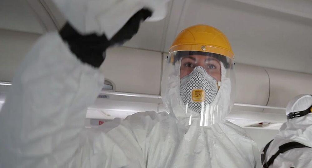 Rusya- Koronavirüs