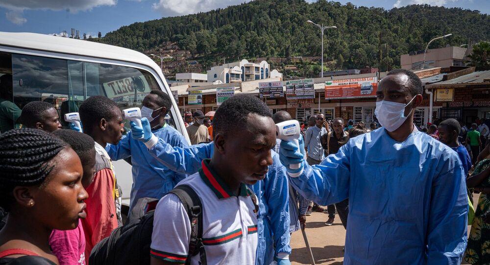 Ruanda - koronavirüs