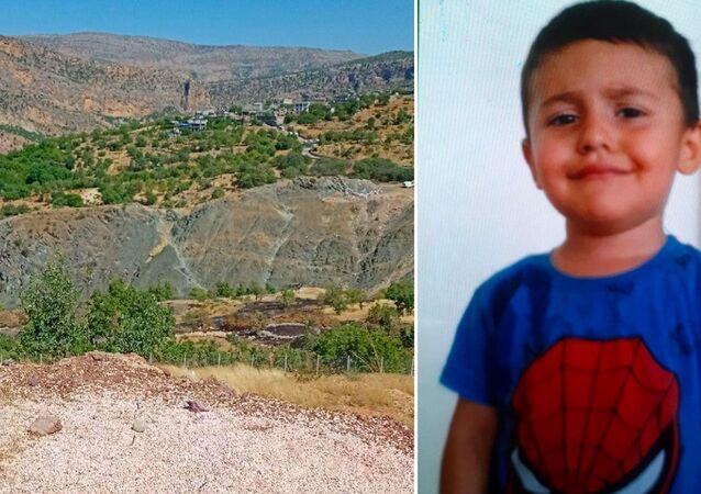 Diyarbakır'ın Dicle ilçesinin Kelekçi köyünde dün kaybolan 4 yaşındaki Miraç Çiçek, köyün dışında baygın halde bulunarak hastaneye kaldırıldı.