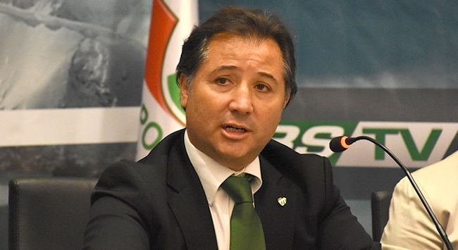 Bursaspor Kulübü Başkanı Mesut Mestan