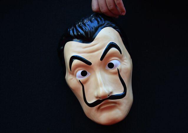 La Casa de Papel, maske
