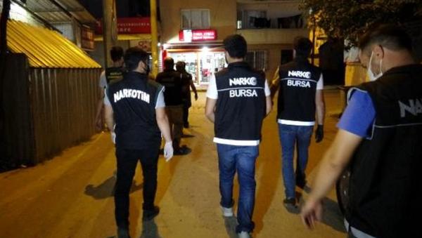 Bursa'da uyuşturucu operasyonu - Sputnik Türkiye