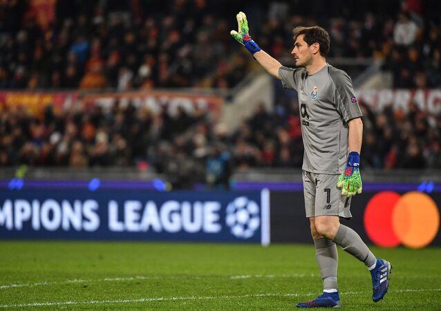 İspanya Milli Takımı ve Real Madrid'in efsane kalecisi Iker Casillas