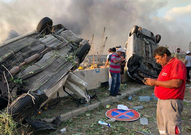 Lübnan'da büyük bir patlama sonucu yıkıma uğrayan Akdeniz'in en büyük limanlarından Beyrut Limanı (BL) ülke ekonomisinin can damarı sayılıyordu.