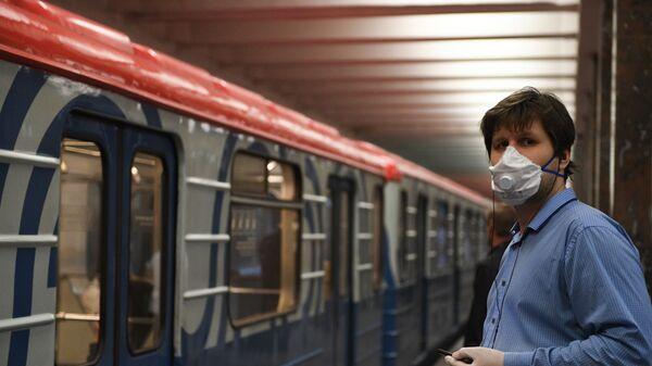 Metro, koronavirüs, Moskova, Rusya - Sputnik Türkiye