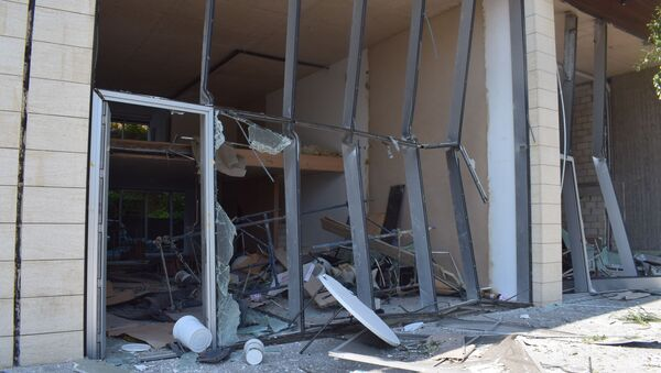 Lübnan Beyrut Limanı'nda meydana gelen patlamanın ardından Beyrut görüntüleri - Sputnik Türkiye