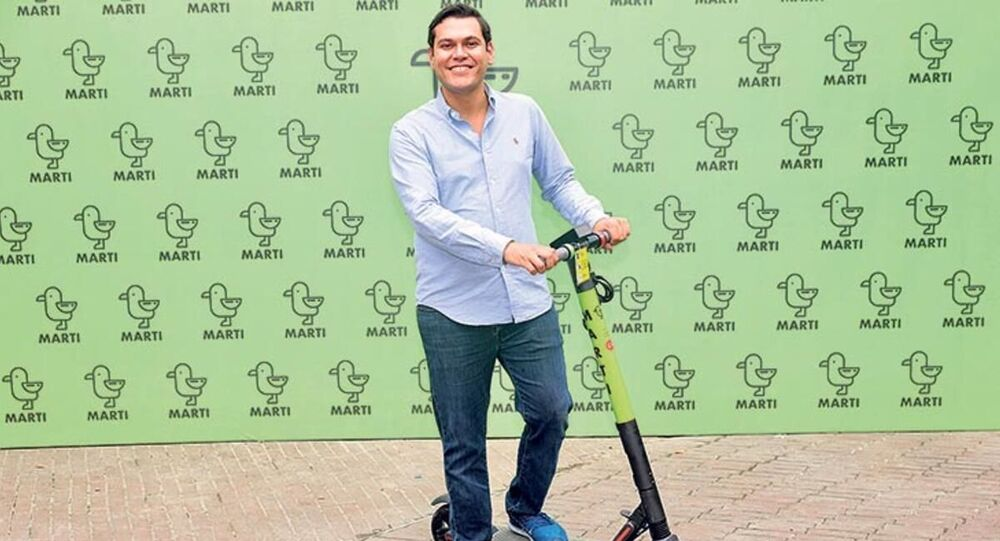 Martı CEO'su Oğuz Alper Öktem