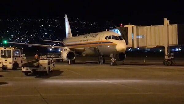 Rusya'nın yardımını taşıyan ikinci uçak Beyrut'a indi - Sputnik Türkiye