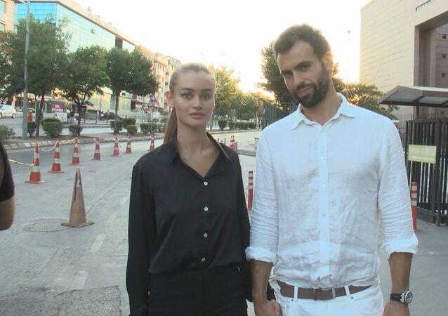 Daria Kyryliuk ile erkek arkadaşı Baran Güneş