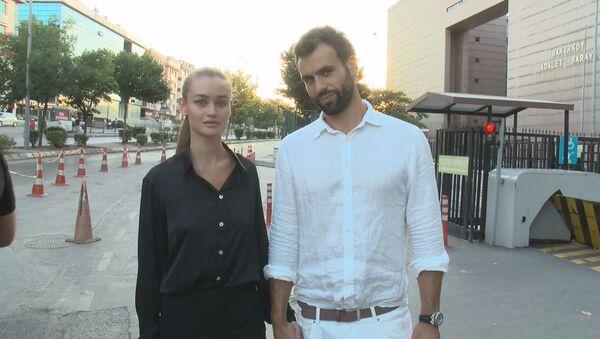 Daria Kyryliuk ile erkek arkadaşı Baran Güneş - Sputnik Türkiye
