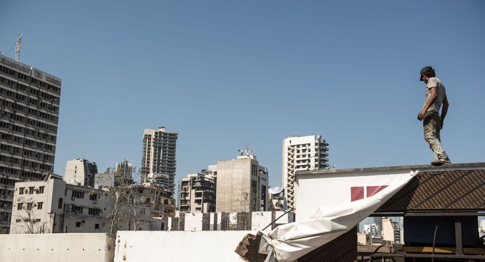 Lübnan - Beyrut Limanı patlaması sonrası
