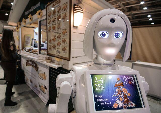 Gastronomi festivalinde robot aşçı