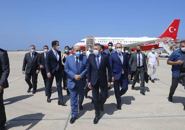 Fuat Oktay - Mevlüt Çavuşoğlu - Lübnan - Beyrut