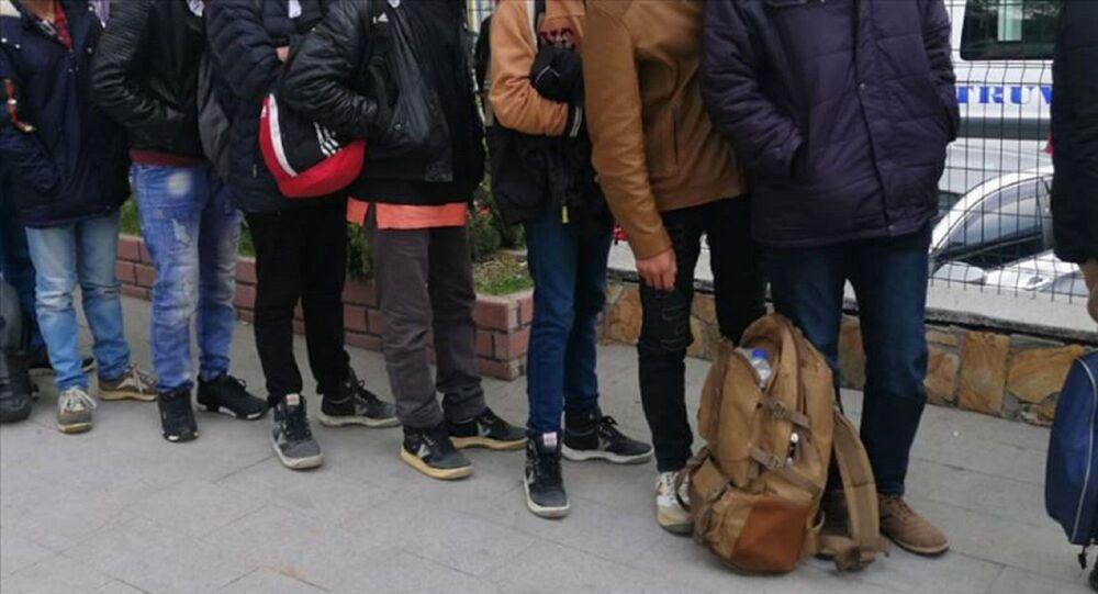 Edirne'de 565 düzensiz göçmen yakalandı