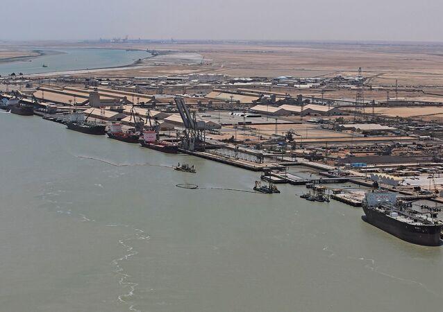 Um Kasır limanı - Irak
