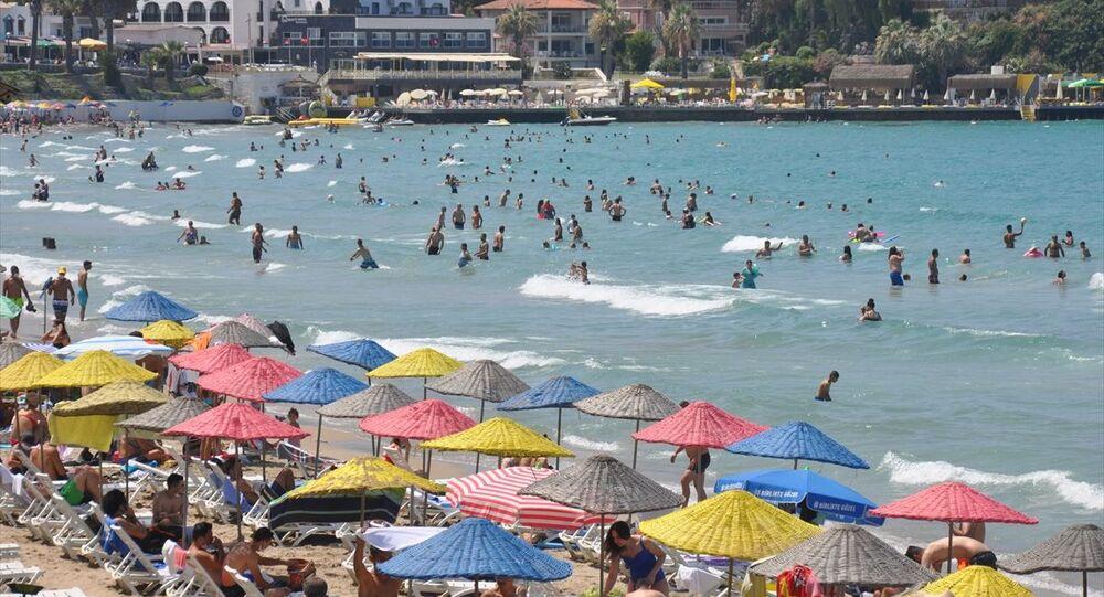 Kuşadası, koronavirüs, tatil, deniz