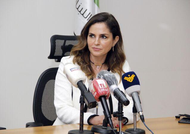 Lübnan Enformasyon Bakanı Menal Abdussamed