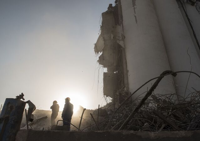 Beyrut'taki patlama