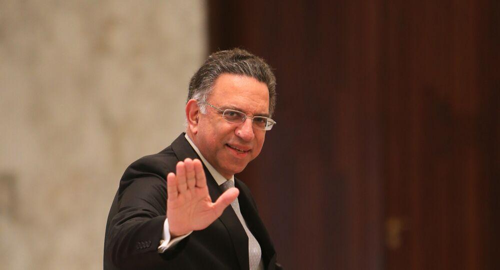 Lübnan Çevre Bakanı Damianos Kattar