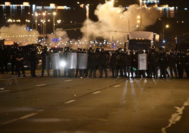 Minsk'teki protestolar
