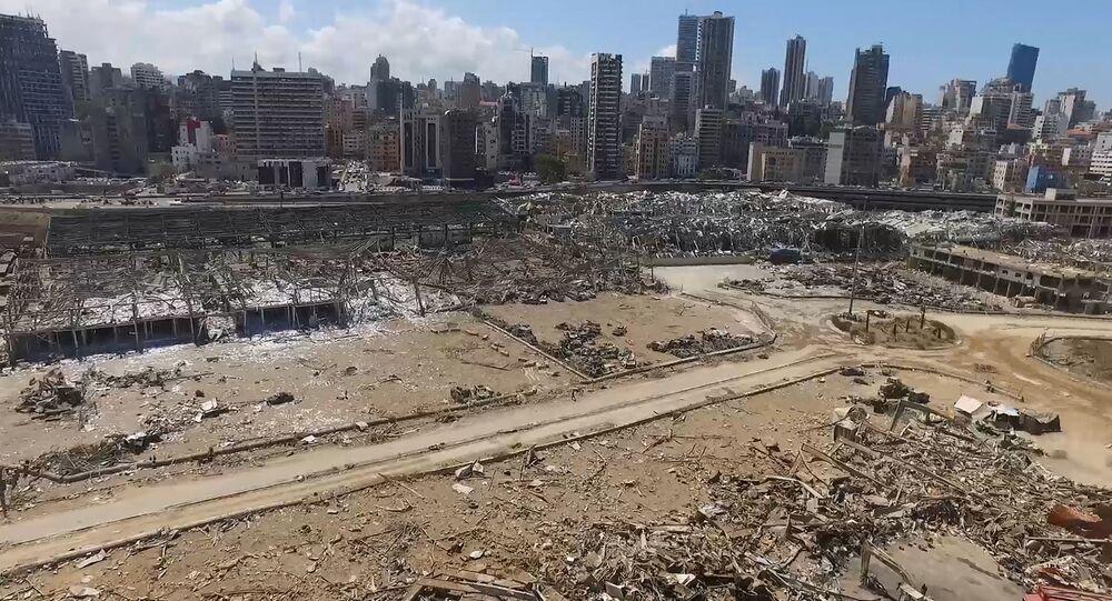 patlama sonrası Beyrut, Lübnan