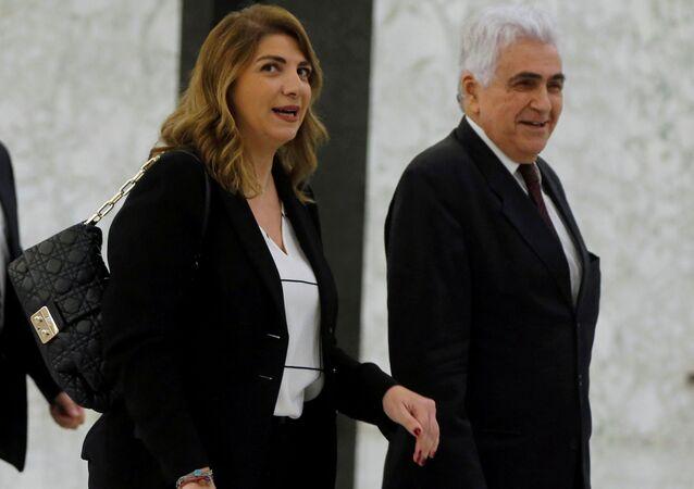 Lübnan'da Adalet Bakanı Mari Kloud Necm da Beyrut Limanı'ndaki şiddetli patlamanın ardından istifasını sundu.