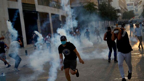 lübnan- beyrut- protesto - Sputnik Türkiye
