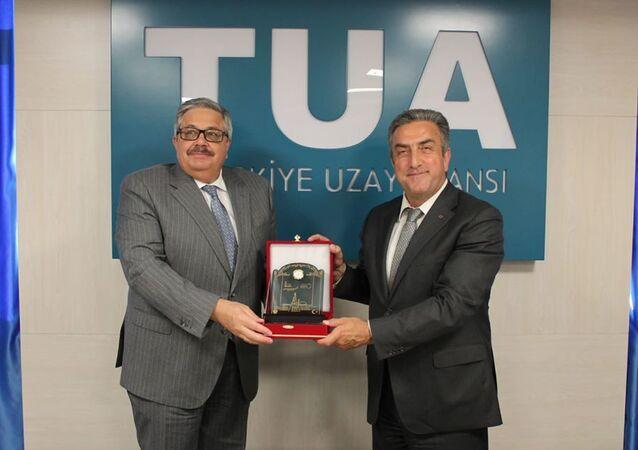 Aleksey Yerhov, Türk Uzay Ajansı Başkanı Serdar Hüseyin Yıdırım