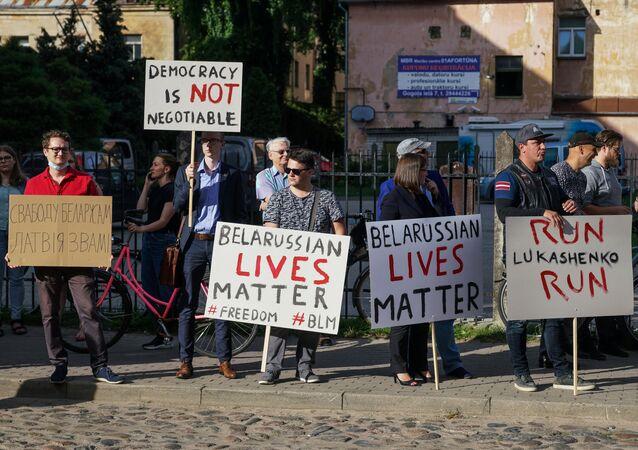 Belarus seçim protestoları