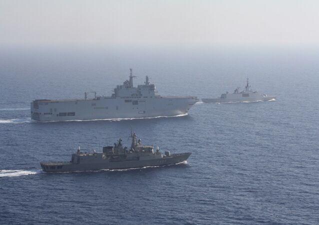 Κοινή άσκηση Ελλάδας - Γαλλίας στην Ανατολική Μεσόγειο, 13 Αυγούστου 2020
