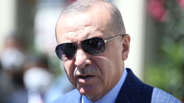 Recep Tayyip Erdoğan - Sputnik Türkiye