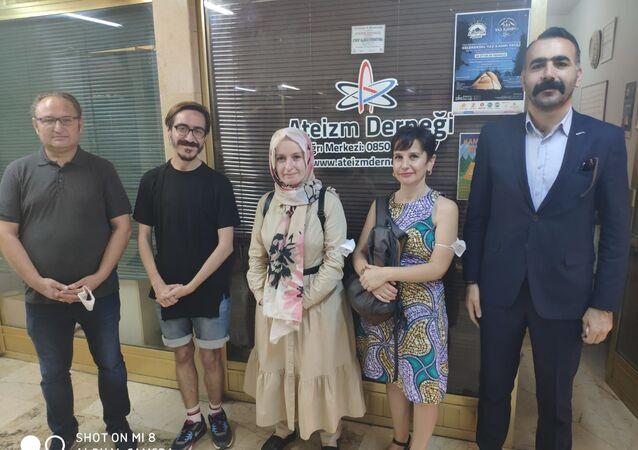 İBB İnanç Masası'ndan Ateizm Derneği'ne ziyaret