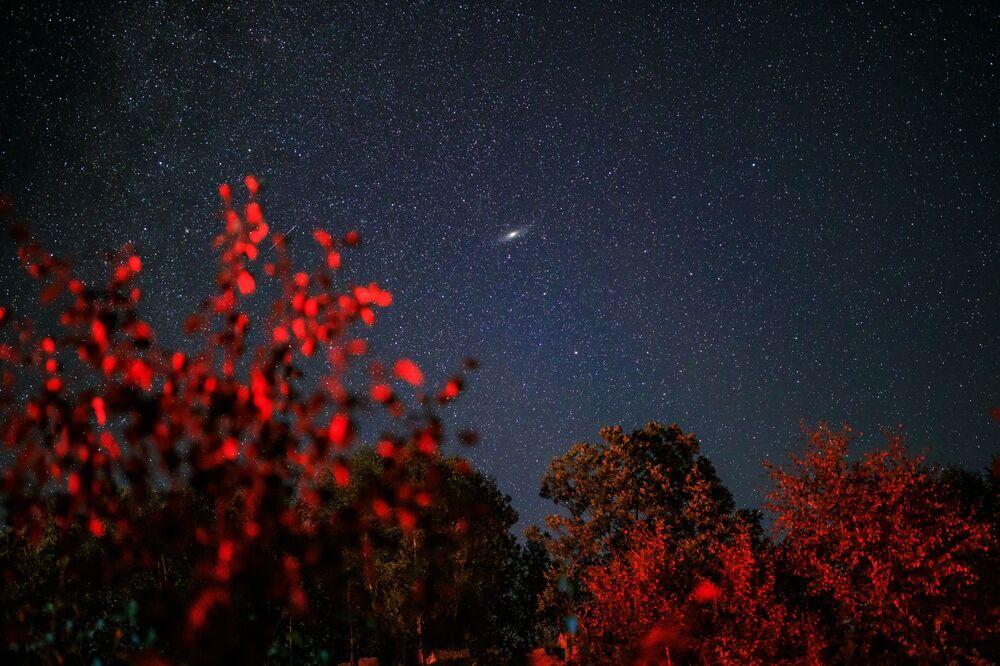 Perseus Takımyıldızı bölgesinde gözlemlendiğinden  bu doğa olayına Perseid gök taşı yağmuru adı verilmiştir.