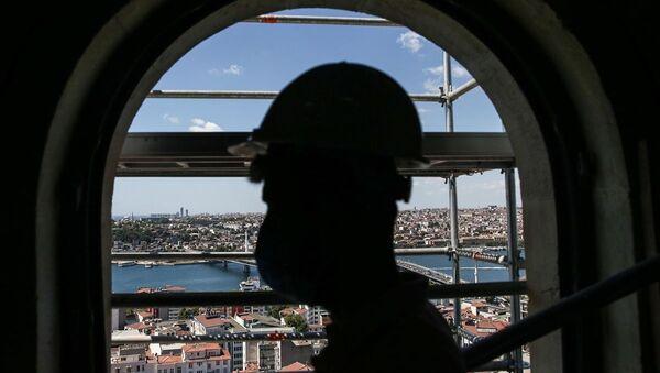 Galata Kulesi - restorasyon - Sputnik Türkiye