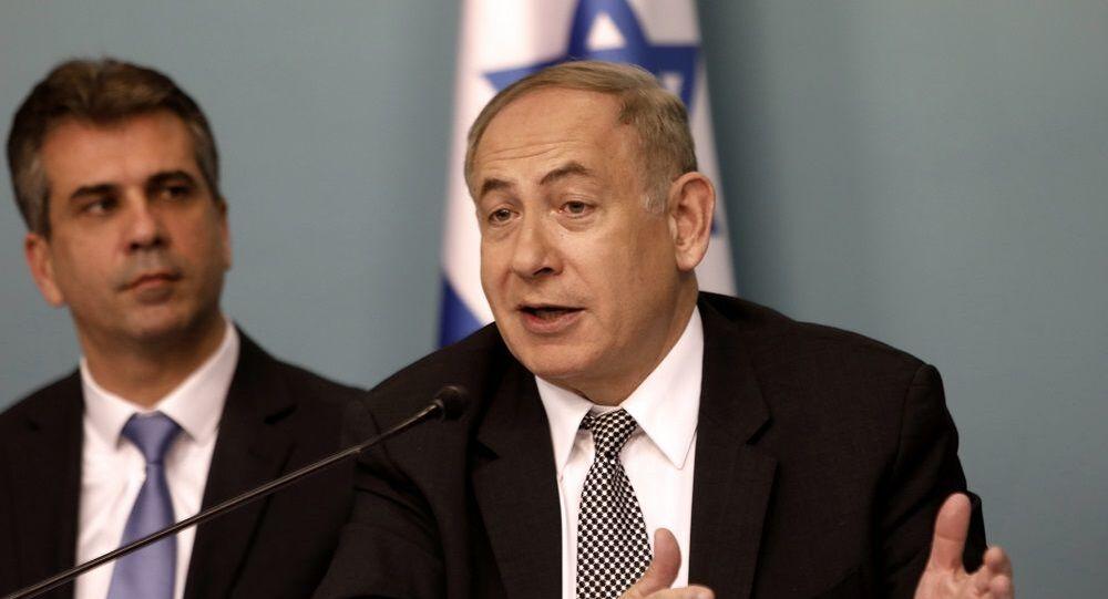 İsrail Başbakanı Netanyahu ve İsrail İstihbarat Bakanı Eli Cohen