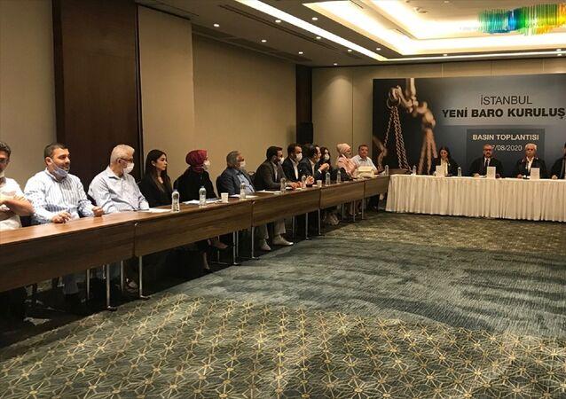7249 Sayılı Avukatlık Kanunu İle Bazı Kanunlarda Değişiklik Yapılmasına Dair Kanun kapsamında İstanbul 2 Nolu Baro'nun kurulması için Türkiye Barolar Birliği'ne müracaat edilerek, üye olunması için elektronik imza sürecine başlanıldı. Kurucular Kurulu üyeleri (karşı masa soldan, sağa) avukat Şengül Karslı, avukat Niyazi Paksoy, avukat Necati Ceylan ve avukat Cavit Tatlı yeni baronun kuruluşuyla ilgili basın toplantısı düzenledi.