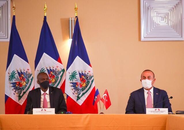 Dışişleri Bakanı Mevlüt Çavuşoğlu, Haiti ziyareti sırasında Türkiye ve Haiti arasında 7 anlaşma imzalandığını duyurdu.