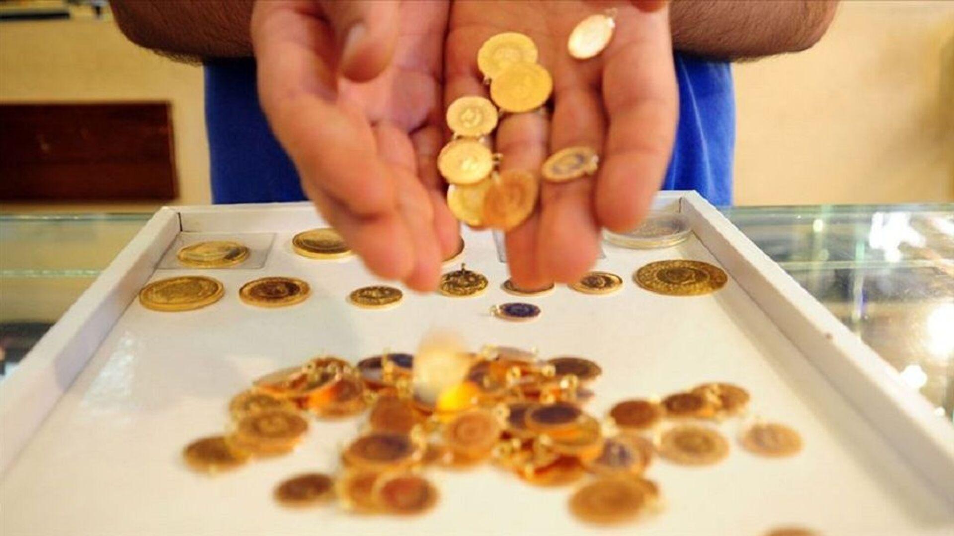 Gram altın, çeyrek altın, altın - Sputnik Türkiye, 1920, 14.06.2021