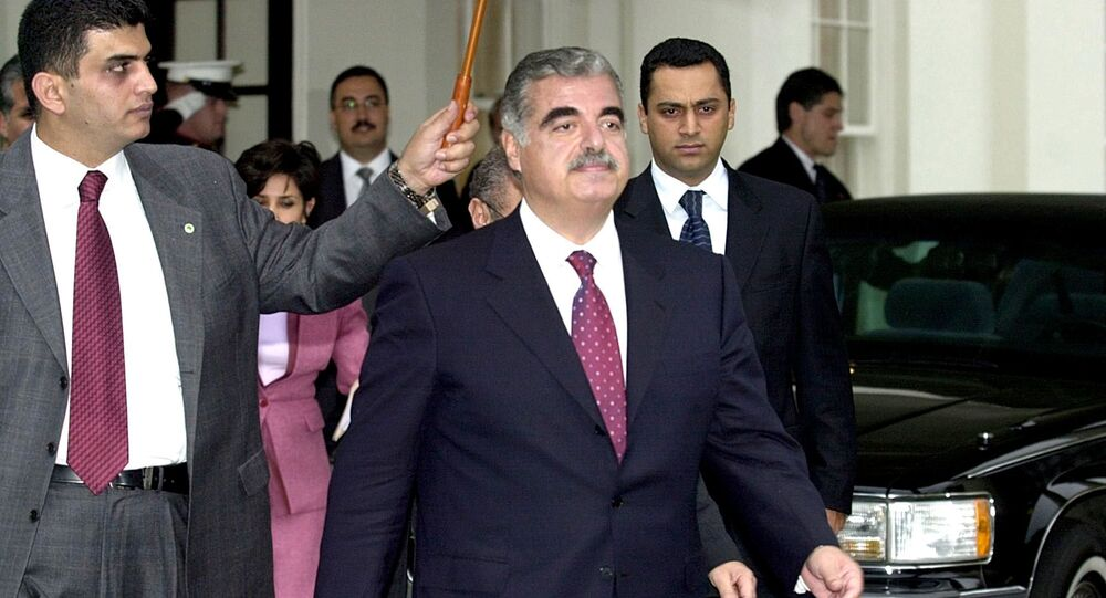 14 Şubat 2005'te Beyrut'ta konvoyuna bomba yüklü bir kamyonla düzenlenen saldırı sonucu hayatını kaybeden Başbakan Refik Hariri