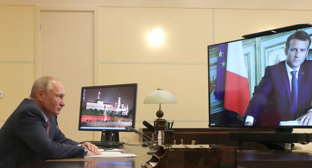 Putin, Macron, Rusya, Fransa