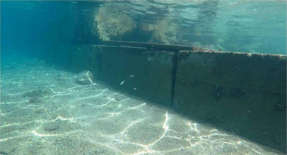 Bodrum'da deniz tabanına yapılan beton duvarlarla ilgili inceleme başlatıldı