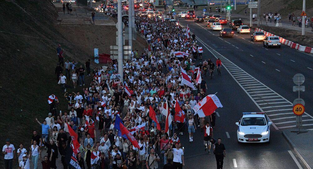 Belarus, protesto, eylem